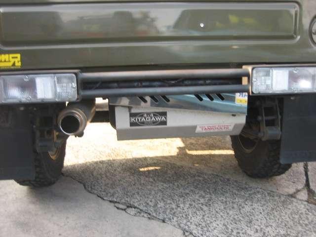 ワイルドウインドリミテッド 4WD レザー調シートカバー社外(5枚目)