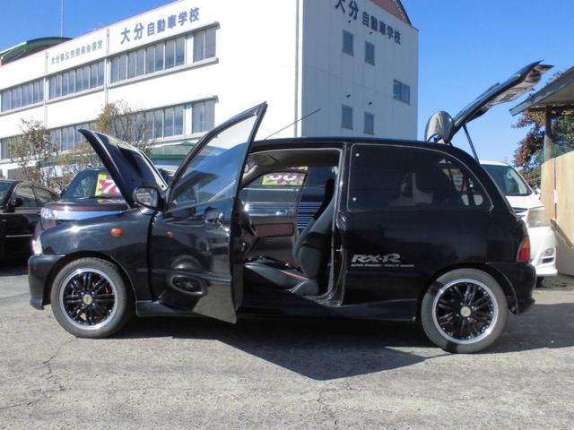 RX-R TRUSTマフラー 社外14アルミ ローダウン車(15枚目)