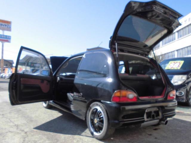 RX-R TRUSTマフラー 社外14アルミ ローダウン車(20枚目)