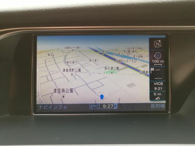 2.0TFSIクワトロ Sライン 純正MMIナビ 黒半革(3枚目)