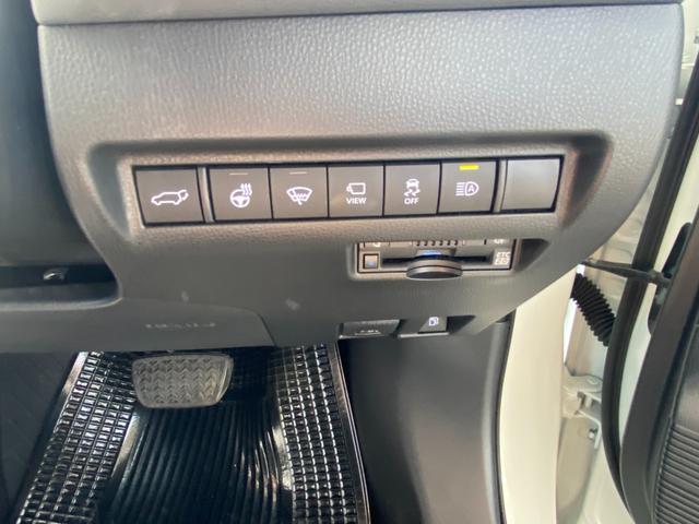 Z レザーパッケージ 自社デモカー4WDモデリスタエアロ調光ルーフITSコネクトパノラミックビュー寒冷地1500WコンセントJBLナビトヨタセーフティセンスBSMデジタルインナーミラー黒革エアパワーシート(35枚目)