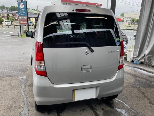 FX ワゴンR 660FX ミッション ユーザ買取車 純正オーディオ(6枚目)