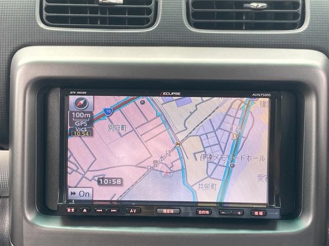 カスタム RS ターボ車 HIDヘッドライト 純正15インチアルミ 純正エアロ メモリーナビフルセグTV Bluetooth DVD再生 スマートキー ベンチシート タイミングチェーン(3枚目)