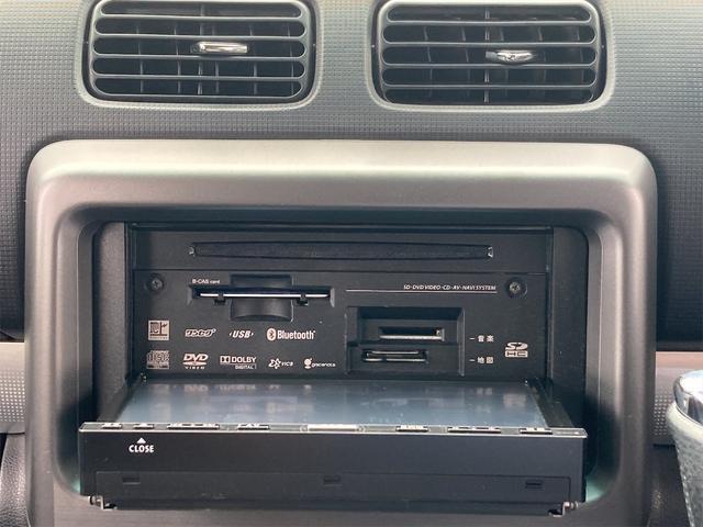 カスタム RS ターボ車 HIDヘッドライト 純正15インチアルミ 純正エアロ メモリーナビフルセグTV Bluetooth DVD再生 スマートキー ベンチシート タイミングチェーン(6枚目)