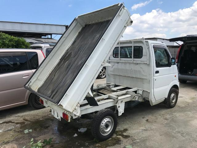 ダンプ 4WD ワンオーナー車(2枚目)