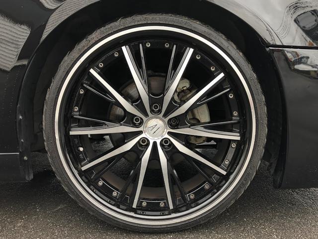 300G 色替 社外フルエアロ 車高調 社外20インチアルミ(13枚目)