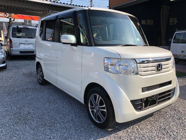 「ホンダ」「N-BOX+カスタム」「コンパクトカー」「鹿児島県」の中古車3