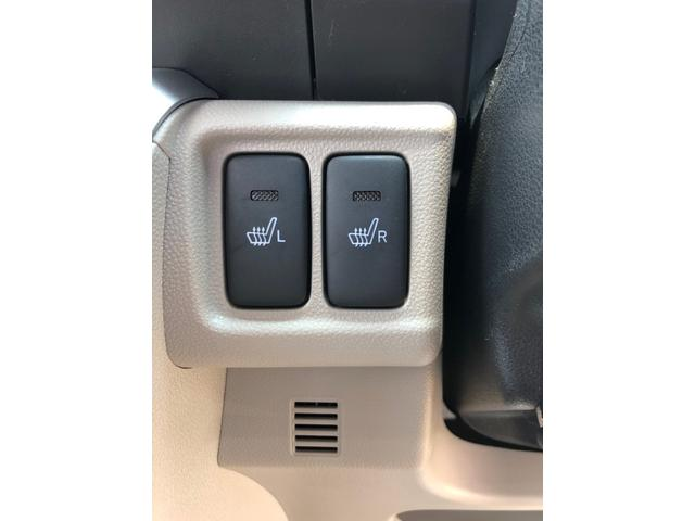 リミテッド車なので運転席と助手席にシートヒーターを特別装備♪
