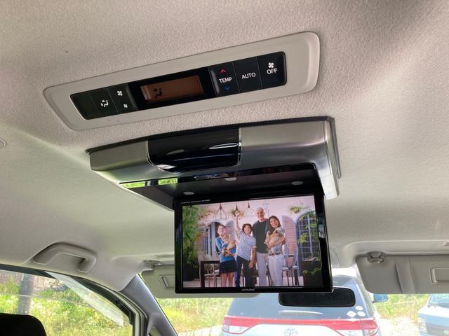 ハイブリッドV アルパインSDナビ・アルパインフリップダウンモニター バックカメラ 両側パワースライドドア ワンオーナー ETC スマートキー 7人乗り シートヒーター LEDライト CD/DVD 純正AW(21枚目)
