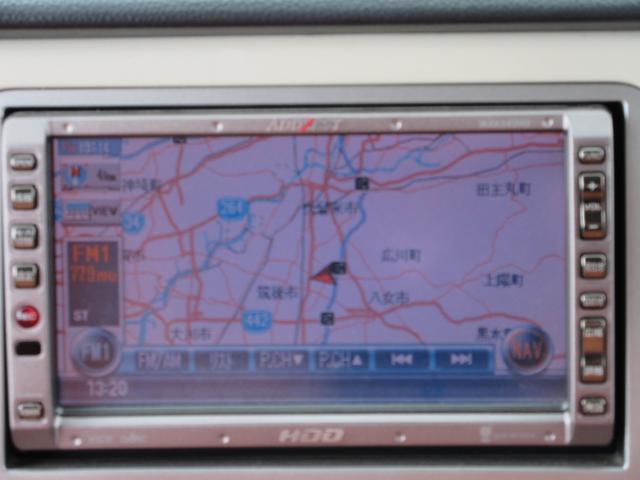 X HDDナビ DVD再生 アルミホイール 車検2年4月(3枚目)