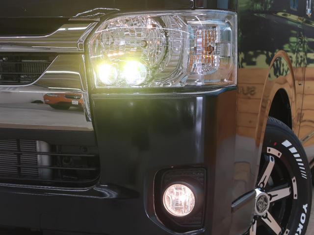 スーパーGL ダークプライムII 軽油 登録済未使用車 セーフティセンス/車線逸脱警報 両側電動ドア AC100V電源 ハーフレザー ブラック天井 プリクラッシュ LEDヘッド/フォグライト オートハイビーム ウッドコンビハンドル(13枚目)