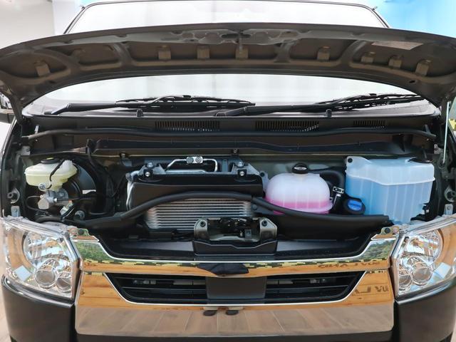 スーパーGL ダークプライムII 軽油 登録済未使用車 セーフティセンス/車線逸脱警報 両側電動ドア AC100V電源 ハーフレザー ブラック天井 プリクラッシュ LEDヘッド/フォグライト オートハイビーム ウッドコンビハンドル(49枚目)