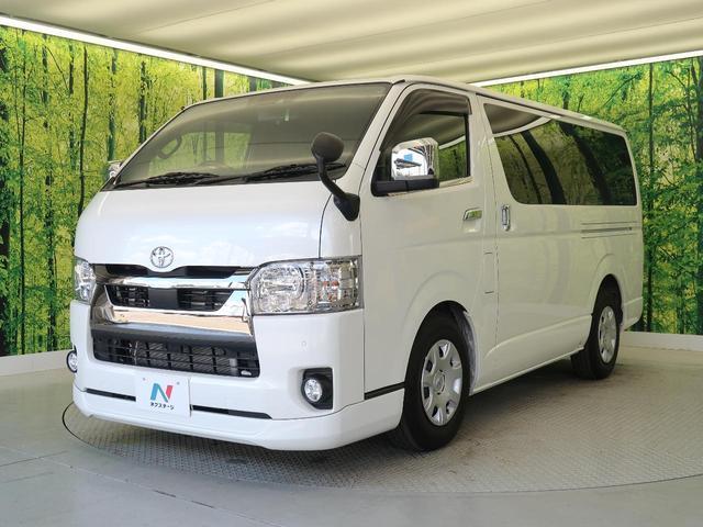スーパーGL ダークプライムII 軽油 登録済未使用車 セーフティセンス/衝突軽減装置 車線逸脱警報装置 両側電動ドア AC100V電源 ハーフレザー コーナーセンサー LEDヘッド/オートヘッドライト ウッドコンビステアリング(53枚目)