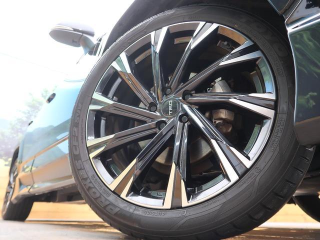 G Zパッケージ TRDフルエアロ&オーバーフェンダー TRD20インチAW 純正9型ナビ 黒革/シートヒーター パワーバックドア 1オーナー 禁煙車 コーナーセンサー LEDヘッド/フォグ バックカメラ(16枚目)