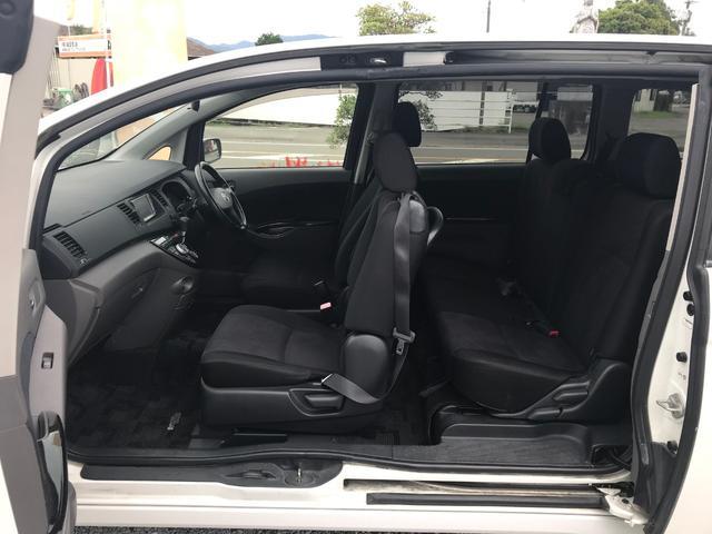 プラタナ 左側電動スライドドア 車検整備付き キーレス(6枚目)