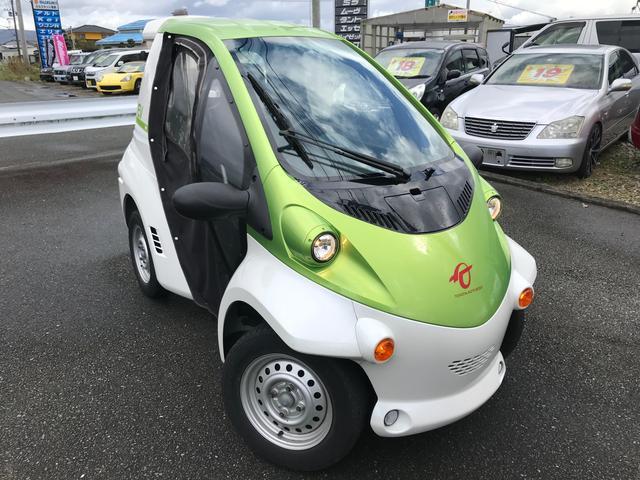 P-com ドア付き 小型電気自動車 家庭用100V充電OK(5枚目)
