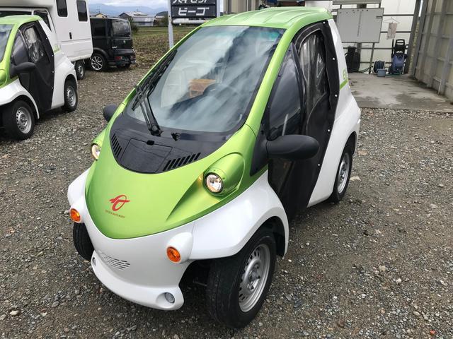 P-com ドア付き 小型電気自動車 家庭用100V充電OK(6枚目)