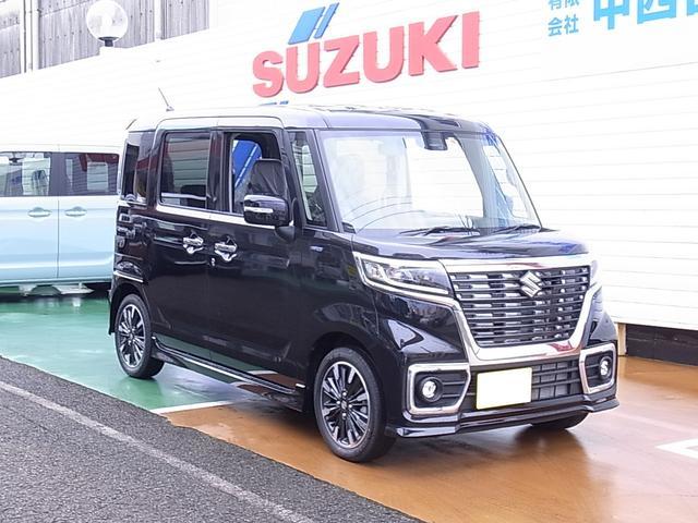 「スズキ」「スペーシアカスタム」「コンパクトカー」「宮崎県」の中古車36