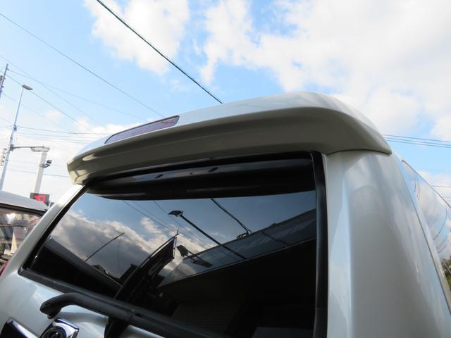 SSR-G 6インチUP 社外オーバーフェンダー MKW製16インチAW 人気のパール アルパイン製HDDナビ フルセグTV バックカメラ ルーフレール リアスポ HIDヘッドライト HIDフォグ(19枚目)