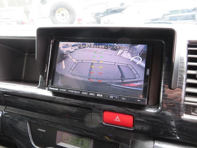 キャンパー特装車 4WD 8人乗りキャンピング登録車 サイドタープ パワースライドドア BRIDEシート 純正HIDヘッドライト 17インチAW ボンネット 地デジナビ フリップダウンモニター(4枚目)