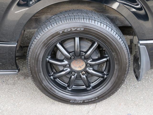キャンパー特装車 4WD 8人乗りキャンピング登録車 サイドタープ パワースライドドア BRIDEシート 純正HIDヘッドライト 17インチAW ボンネット 地デジナビ フリップダウンモニター(16枚目)