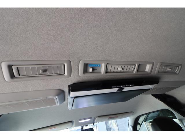 ベッドキット REVOシート 3列目シート外し GLベース ローダウン2インチブロック 構造変更済 ツインモニター レザー調シートカバー LEDテール ウッド調インテリアパネル フリップダウンモニター LEDヘッドライト パワースライドドア(77枚目)