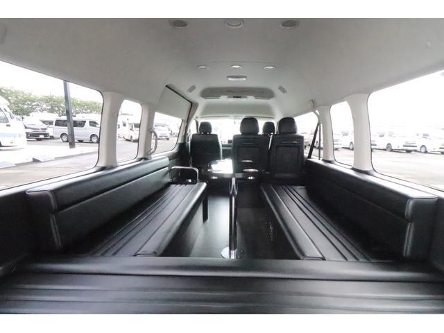 グランドキャビン セカンドハウス製 10人乗り 3ナンバー 2.7L ガソリン SDナビ ETC フリップダウンモニター リヤクーラー・ヒーター 20AW スマートキー 電動スライドドア テーブル 展開式ベッド(29枚目)