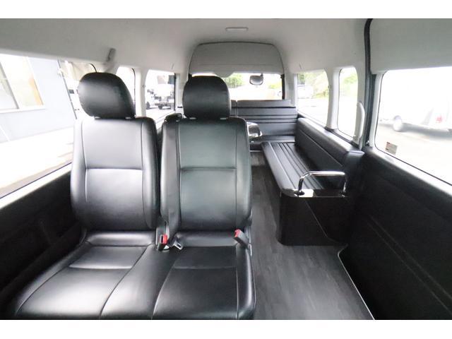 グランドキャビン セカンドハウス製 10人乗り 3ナンバー 2.7L ガソリン SDナビ ETC フリップダウンモニター リヤクーラー・ヒーター 20AW スマートキー 電動スライドドア テーブル 展開式ベッド(31枚目)