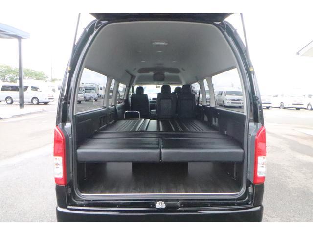 グランドキャビン セカンドハウス製 10人乗り 3ナンバー 2.7L ガソリン SDナビ ETC フリップダウンモニター リヤクーラー・ヒーター 20AW スマートキー 電動スライドドア テーブル 展開式ベッド(37枚目)