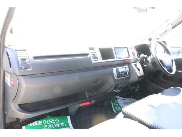キャンピングカー ビークル デュオ タイプC 9人乗り FFヒーター TV 冷蔵庫 外部電源 ツインサブバッテリー 1500Wインバーター 4WD SDナビ LEDヘッドライト シンク カセットコンロ 強化スタビライザー(32枚目)