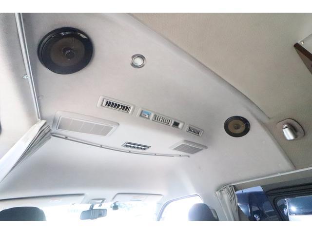 キャンピングカー ビークル デュオ タイプC 9人乗り FFヒーター TV 冷蔵庫 外部電源 ツインサブバッテリー 1500Wインバーター 4WD SDナビ LEDヘッドライト シンク カセットコンロ 強化スタビライザー(52枚目)