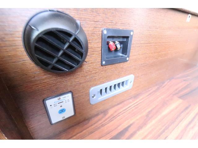 キャンピングカー ビークル デュオ タイプC 9人乗り FFヒーター TV 冷蔵庫 外部電源 ツインサブバッテリー 1500Wインバーター 4WD SDナビ LEDヘッドライト シンク カセットコンロ 強化スタビライザー(58枚目)