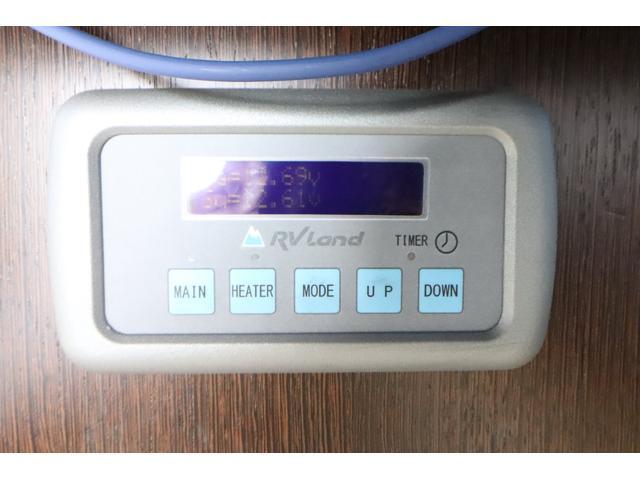 キャンピングカー ビークル デュオ タイプC 9人乗り FFヒーター TV 冷蔵庫 外部電源 ツインサブバッテリー 1500Wインバーター 4WD SDナビ LEDヘッドライト シンク カセットコンロ 強化スタビライザー(61枚目)