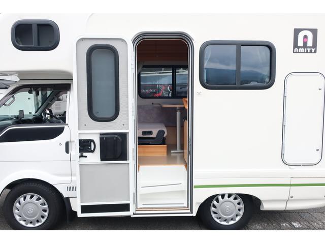 キャンピングカー AtoZ アミティ 6名乗車 ツインサブBT 350Wインバーター 冷蔵庫 外部電源 シンク シンク兼用アウターシャワー 給排水ポリタンク ETC ルーフベント バックモニター ドライブレコーダー 常設2段ベッド(36枚目)