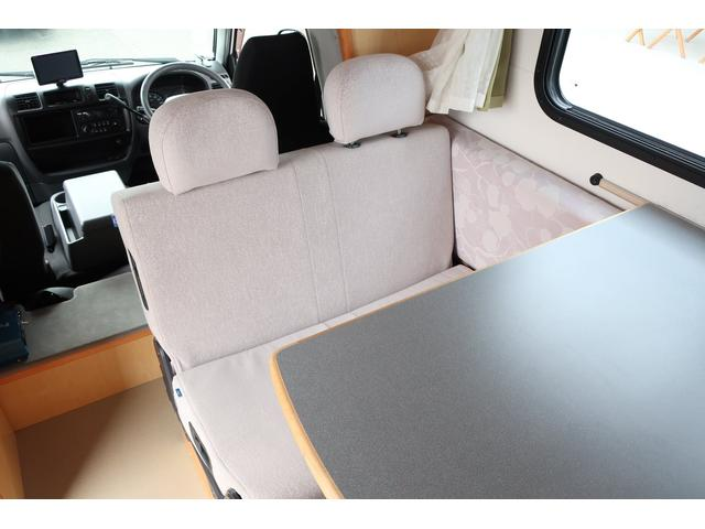 キャンピングカー AtoZ アミティ 6名乗車 ツインサブBT 350Wインバーター 冷蔵庫 外部電源 シンク シンク兼用アウターシャワー 給排水ポリタンク ETC ルーフベント バックモニター ドライブレコーダー 常設2段ベッド(45枚目)