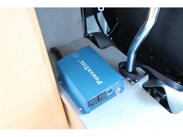 キャンピングカー AtoZ アミティ 6名乗車 ツインサブBT 350Wインバーター 冷蔵庫 外部電源 シンク シンク兼用アウターシャワー 給排水ポリタンク ETC ルーフベント バックモニター ドライブレコーダー 常設2段ベッド(49枚目)