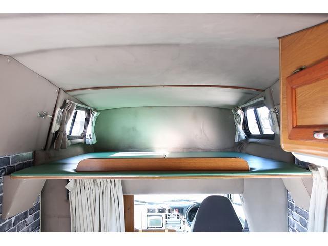 キャンピングカー AtoZ アーデンスペンド 7名乗車 ディーゼル サイドオーニング ルーフベント シンク兼用アウターシャワー 冷蔵庫 サブバッテリー 外部電源 ダイネット バンクベッド 20L給排水ポリタンク FFヒーター(43枚目)