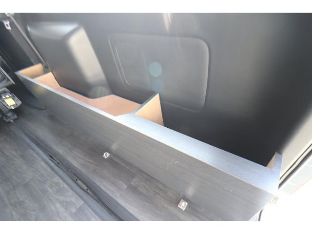 バンコン ダイレクトカーズ製 8人乗り 1ナンバー SDナビ バックカメラ ETC フリップダウンモニター リヤクーラー リヤヒーター フルフラットベッド 両側スライドドア ホワイトパールクリスタルシャイン 6AT オートエアコン(44枚目)