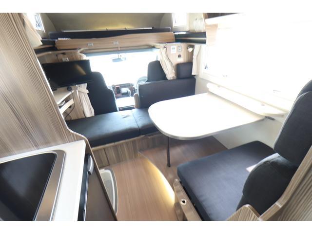 キャンピングカー バンテック ジル520 ディーゼル 4WD 6名乗車 FFヒーター トリプルサブバッテリー 冷蔵庫 サイドオーニング マックスファン 液晶TV 1500Wインバーター シンク 2口コンロ 家庭用エアコン 常設2段ベッド(3枚目)