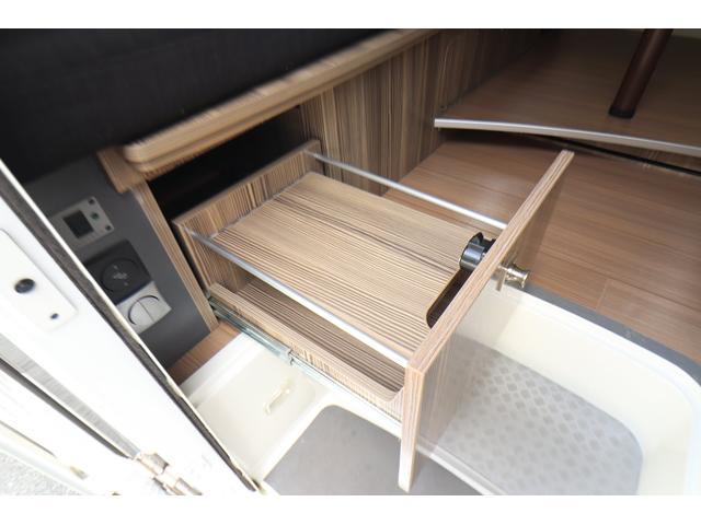キャンピングカー バンテック ジル520 ディーゼル 4WD 6名乗車 FFヒーター トリプルサブバッテリー 冷蔵庫 サイドオーニング マックスファン 液晶TV 1500Wインバーター シンク 2口コンロ 家庭用エアコン 常設2段ベッド(36枚目)