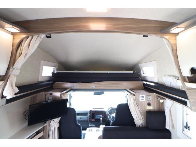 キャンピングカー バンテック ジル520 ディーゼル 4WD 6名乗車 FFヒーター トリプルサブバッテリー 冷蔵庫 サイドオーニング マックスファン 液晶TV 1500Wインバーター シンク 2口コンロ 家庭用エアコン 常設2段ベッド(44枚目)