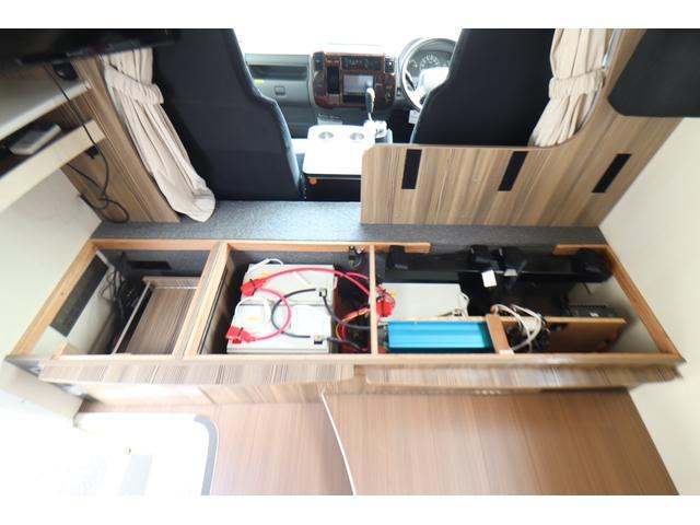 キャンピングカー バンテック ジル520 ディーゼル 4WD 6名乗車 FFヒーター トリプルサブバッテリー 冷蔵庫 サイドオーニング マックスファン 液晶TV 1500Wインバーター シンク 2口コンロ 家庭用エアコン 常設2段ベッド(67枚目)