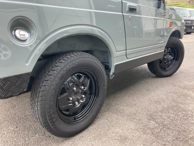 XL JA12 社外バンパー アルバカーキ塗装 4WD オートマ CDオーディオ フォグ(9枚目)