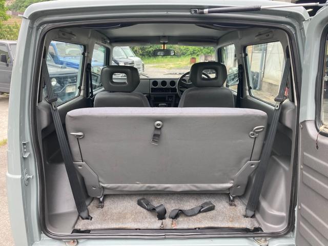 XL JA12 社外バンパー アルバカーキ塗装 4WD オートマ CDオーディオ フォグ(11枚目)
