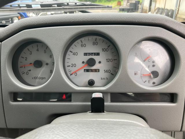 XL JA12 社外バンパー アルバカーキ塗装 4WD オートマ CDオーディオ フォグ(20枚目)