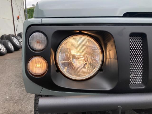 XL JA12 社外バンパー アルバカーキ塗装 4WD オートマ CDオーディオ フォグ(34枚目)
