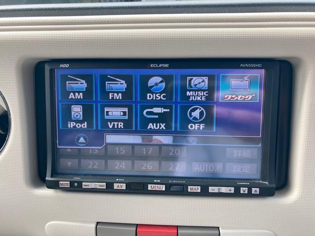 ココアプラスX TV ナビ ミストブルーマイカメタリック CVT AC  オーディオ付 DVD(8枚目)