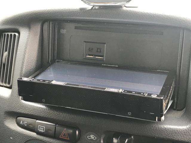 U 4WD 5速マニュアル車 2インチリフトアップ公認 15インチブロックタイヤ サブウーファー シート変更 メモリーナビ フルセグTV DVD再生(33枚目)