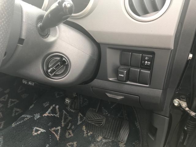 キーを差し込まなくてもエンジン始動できます。