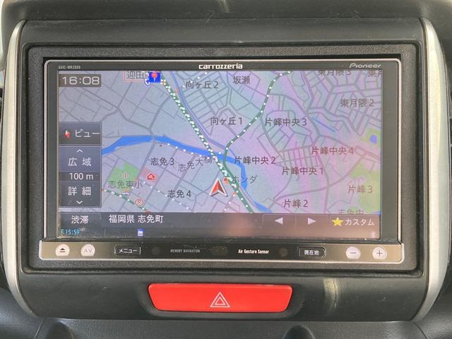 G・Lパッケージ 両側パワースライドドア カロッツェリアSDナビ フルセグ バックカメラ Bluetooth スマートキー HIDライト ETC LED照明 純正14インチアルミホイール(24枚目)